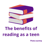The benefits of reading as a teen